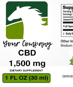 White Label CBD Label