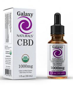 Galaxy Naturals 1000mg CBD Bottle