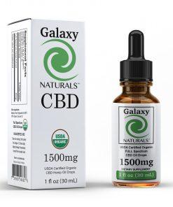 Galaxy Naturals 1500mg CBD Bottle
